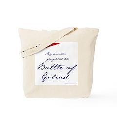 Battle of Goliad Tote Bag