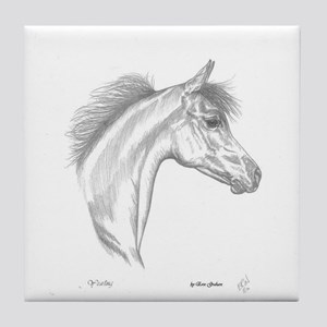 Yearling Horse Tile Coaster