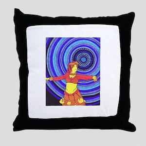 Desert Dancer Throw Pillow