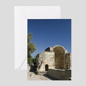 Church of Agios Titos Greeting Card