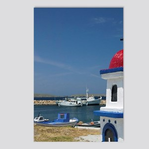 Miniature Fishing Harbor  Postcards (Package of 8)