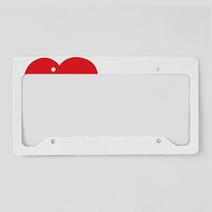 ILOVE14 License Plate Holder