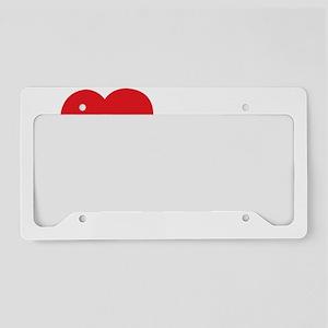 ILOVE23 License Plate Holder
