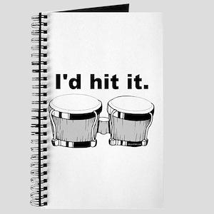 Bongo Drum I'd Hit It Journal