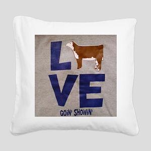 CIMG0773 Square Canvas Pillow