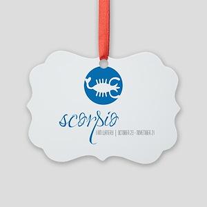 scorpio copy Picture Ornament