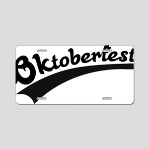 oktoberfest8 Aluminum License Plate