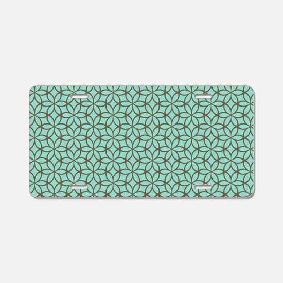 CLUTCH - original pattern Aluminum License Plate