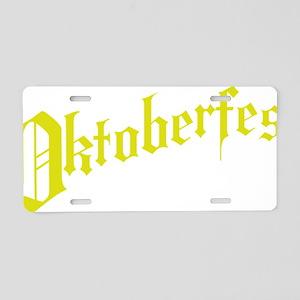 oktoberfest4 Aluminum License Plate