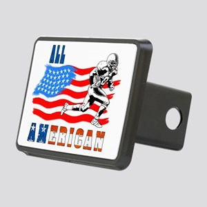 All American Football play Rectangular Hitch Cover