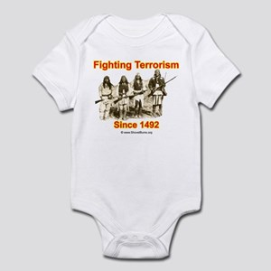 Fighting Terrorism Since 1492 - Apache Infant Body