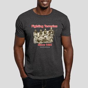 Fighting Terrorism Since 1492 - Apache Dark T-Shir