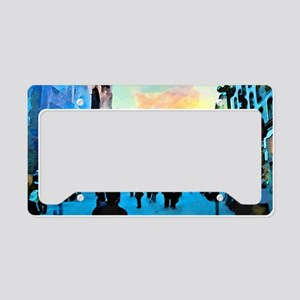 CitiesShoulderBag License Plate Holder