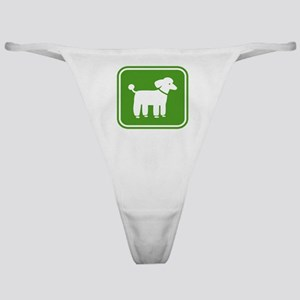 poodlesign Classic Thong
