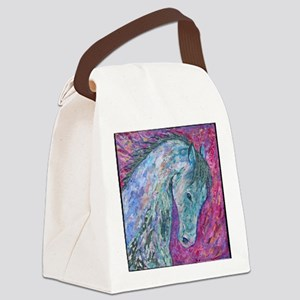 Passion Horse Canvas Lunch Bag