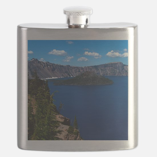 (15s) Crater Lake  Wizard Island Flask
