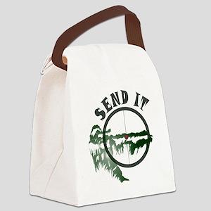 Send it Canvas Lunch Bag