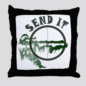 Send it Throw Pillow