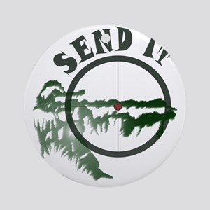 Send it Round Ornament