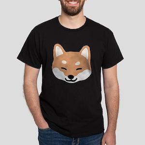shibaface2 Dark T-Shirt