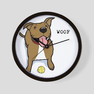 woofteeRB Wall Clock
