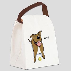 woofteeRB Canvas Lunch Bag