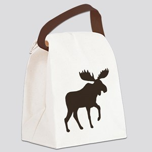 moosebrown Canvas Lunch Bag