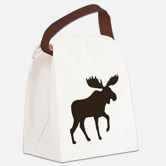 moosebrown Canvas Lunch Bag
