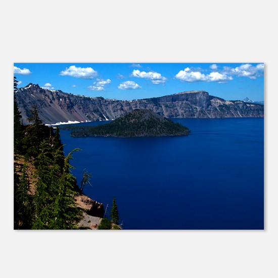(12) Crater Lake  Wizard  Postcards (Package of 8)