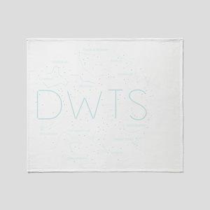 DWTS-13 Throw Blanket