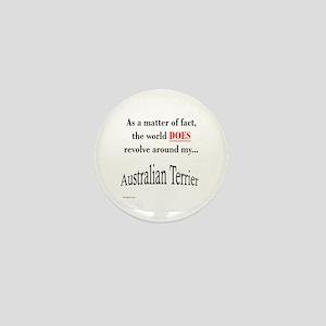 Australian Terrier World Mini Button