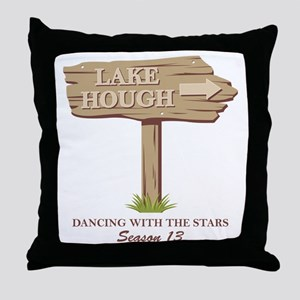 LakeHough Throw Pillow
