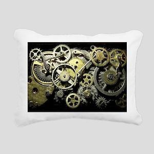 GearsLaptopII Rectangular Canvas Pillow