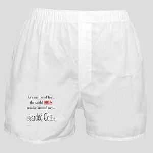 Bearded Collie World Boxer Shorts