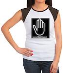 Mathi.com Women's Cap Sleeve T-Shirt