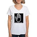 Mathi.com Women's V-Neck T-Shirt