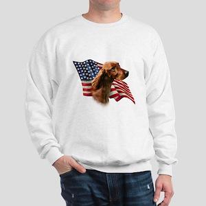 Irish Setter Flag Sweatshirt