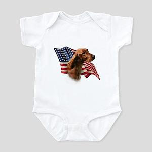 Irish Setter Flag Infant Bodysuit