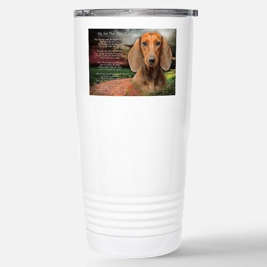 godmadedogs(laptop) Stainless Steel Travel Mug