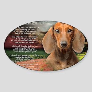 godmadedogs(laptop) Sticker (Oval)
