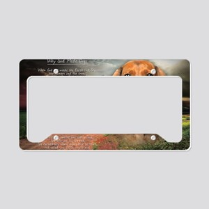 godmadedogs(carmag) License Plate Holder