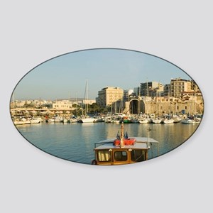 GREECE, CRETE, Iraklio Province, Ir Sticker (Oval)