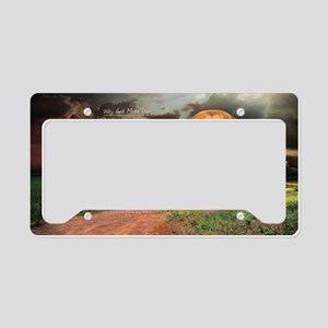 godmadedogs(oval) License Plate Holder