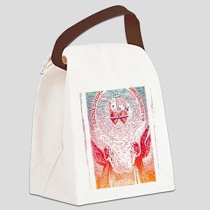 SacredHearts_white Canvas Lunch Bag