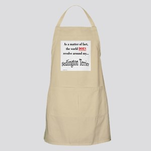 Bedlington Terrier World BBQ Apron