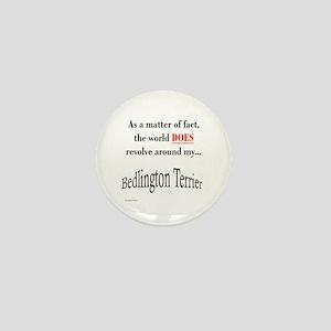 Bedlington Terrier World Mini Button