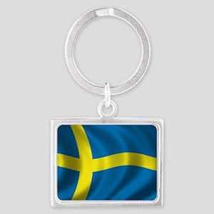 sweden Landscape Keychain
