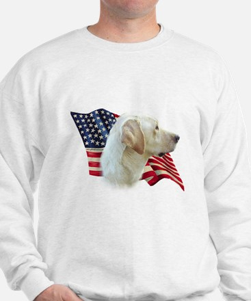 Yellow Lab Flag Sweatshirt