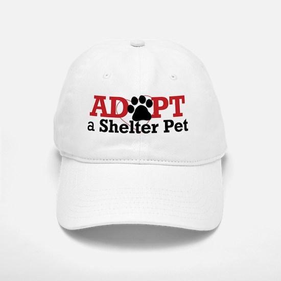 Adopt a Shelter Pet Baseball Baseball Cap