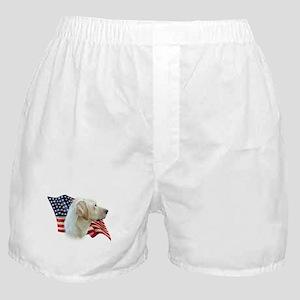 Yellow Lab Flag Boxer Shorts